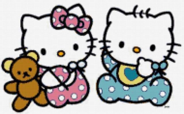 Hello kitty babies,