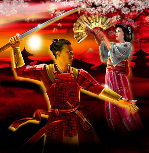 Самурай и гейша, оригинал