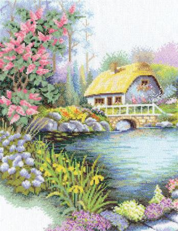 Дом у озера, оригинал