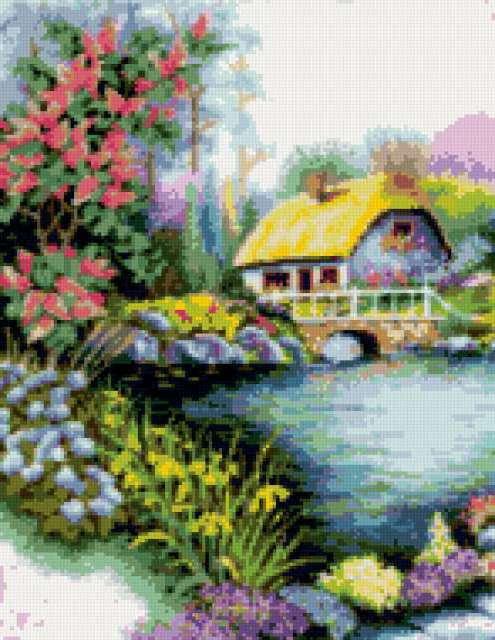 Дом у озера, предпросмотр