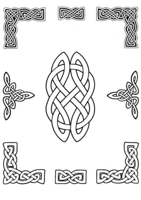 Кельтские рамки, оригинал