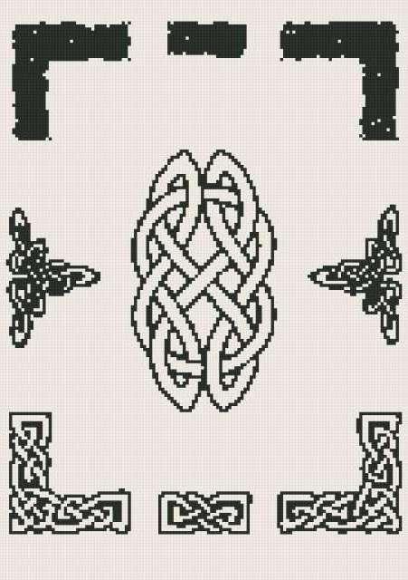 Кельтские рамки, предпросмотр