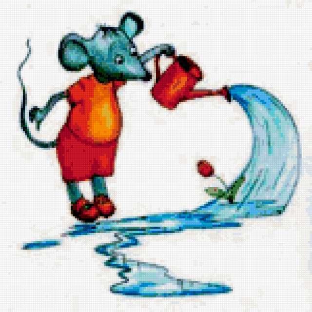 Водолей-Мышь, предпросмотр