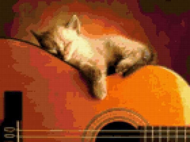 Изгиб гитары, предпросмотр