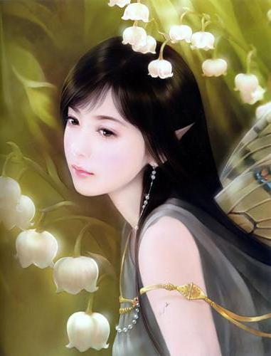 Девушка-эльф 5, японка