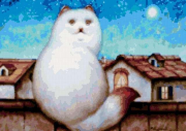 Кот на крыше, предпросмотр