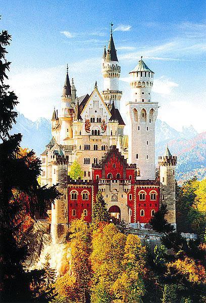 Нойшванштайн. Бавария