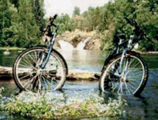 2 велосипеда, предпросмотр