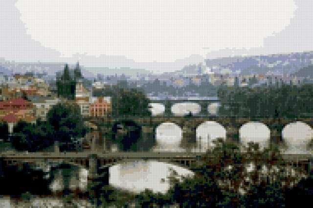 Мосты Праги, предпросмотр