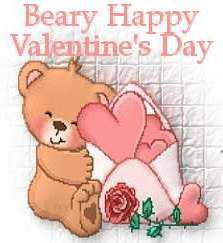 Bear with hearts,
