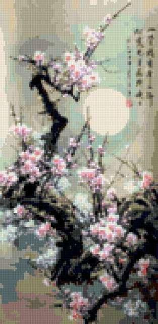 Ветка сакуры, предпросмотр