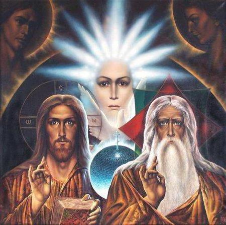 Святая троица, оригинал