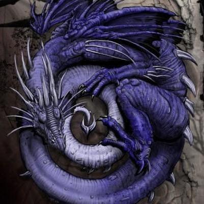 Синий дракон, дракон