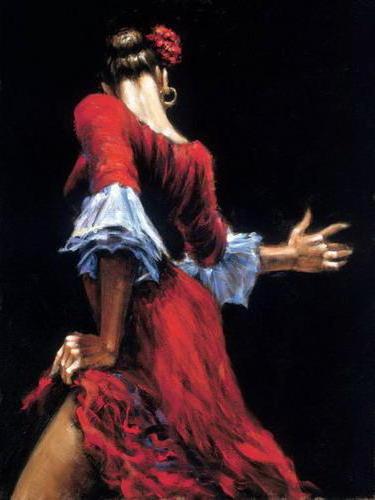 Кармен, танец, танцовщица