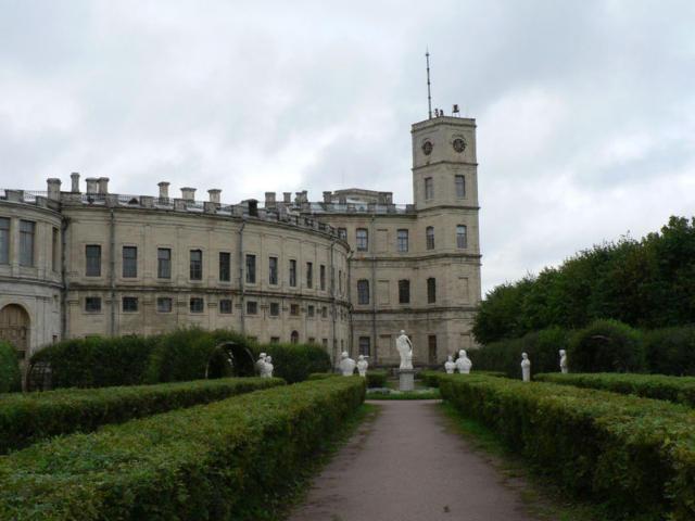 Гатчинский дворец, оригинал
