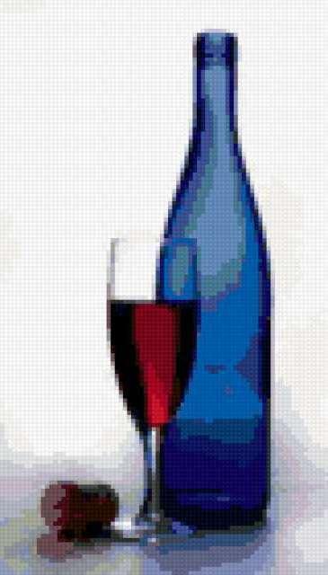 Бокал вина, предпросмотр