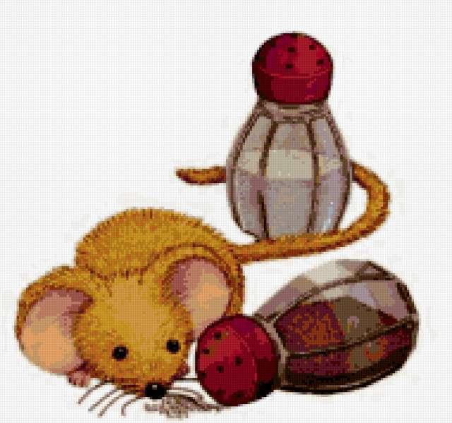 Любопытный мышонок