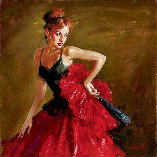Фламенко с вером, оригинал