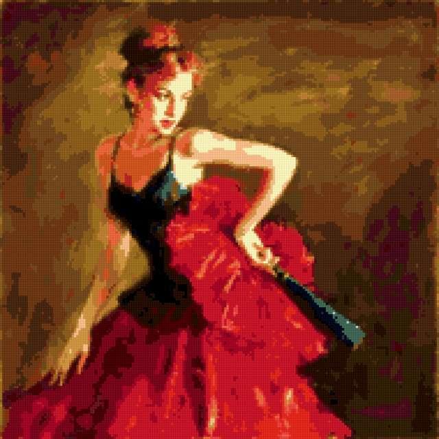 танец страсть фламенко