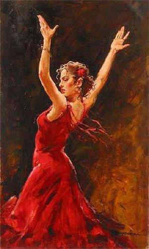 Танцовщица фламенко, оригинал