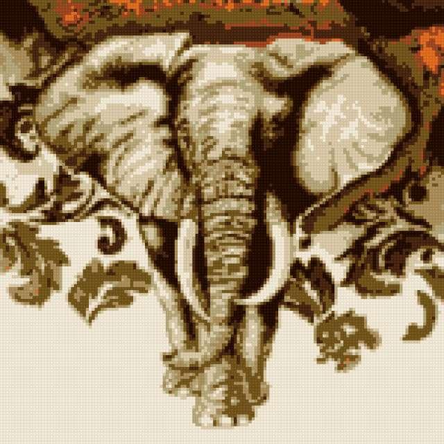 Африканский слон, предпросмотр