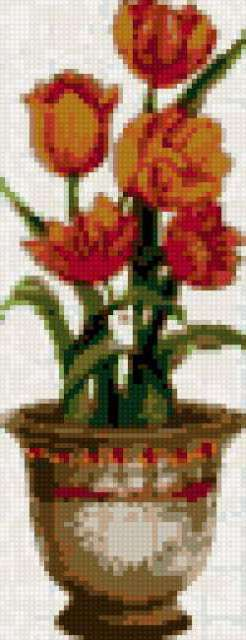 Цветок в горшке-4,