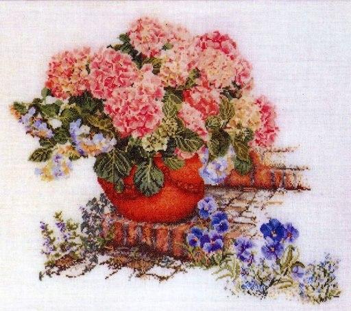 Цветок в горшке-8, оригинал