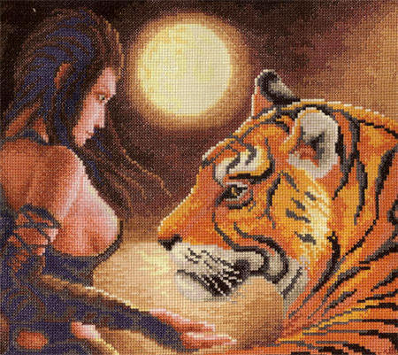 Тигрица, оригинал