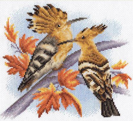 схему вышивки «Птицы: