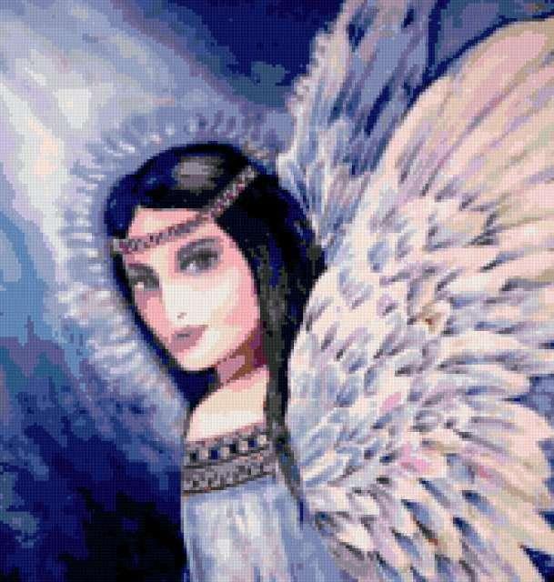 Синий ангел, ангел