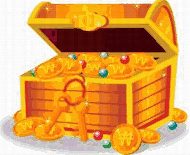 Клад, деньги, монеты