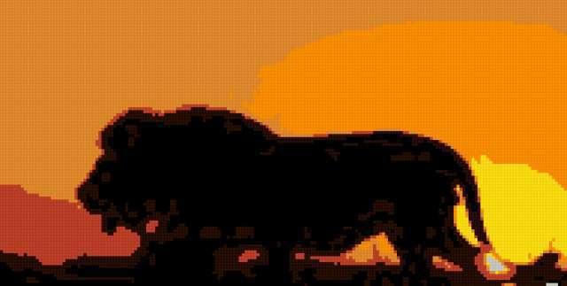 Лев на рассвете, предпросмотр