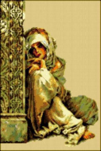Арабская девушка, предпросмотр