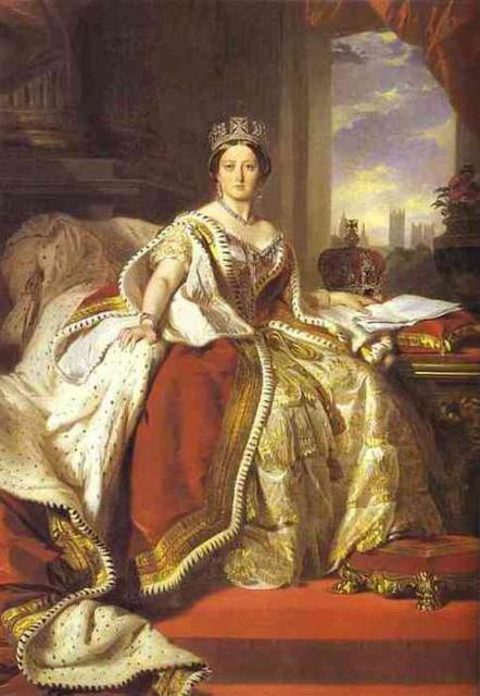 Королева Виктория, оригинал