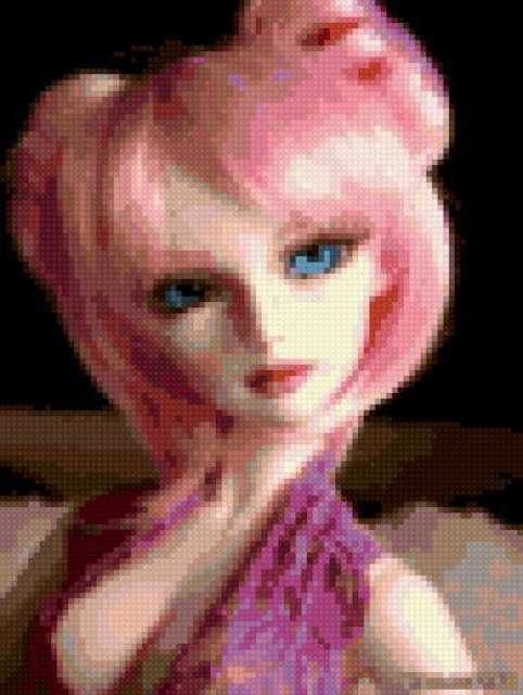 Девушка, кукла., предпросмотр