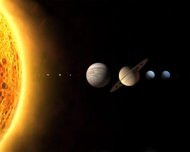 Парад планет, планеты