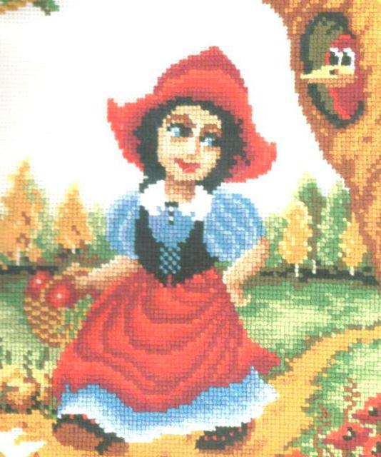 Красная шапочка, оригинал