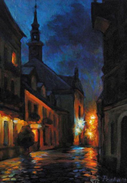 Ночная Прага, оригинал