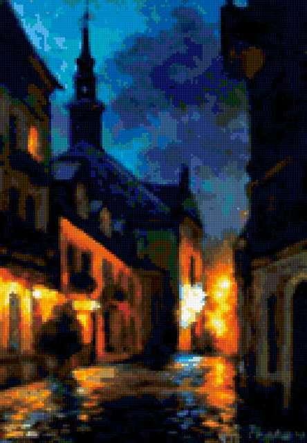 Ночная Прага, предпросмотр