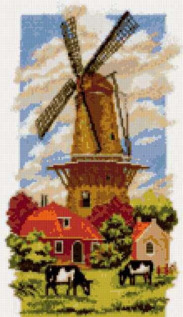 Голландия, поовинция, приода