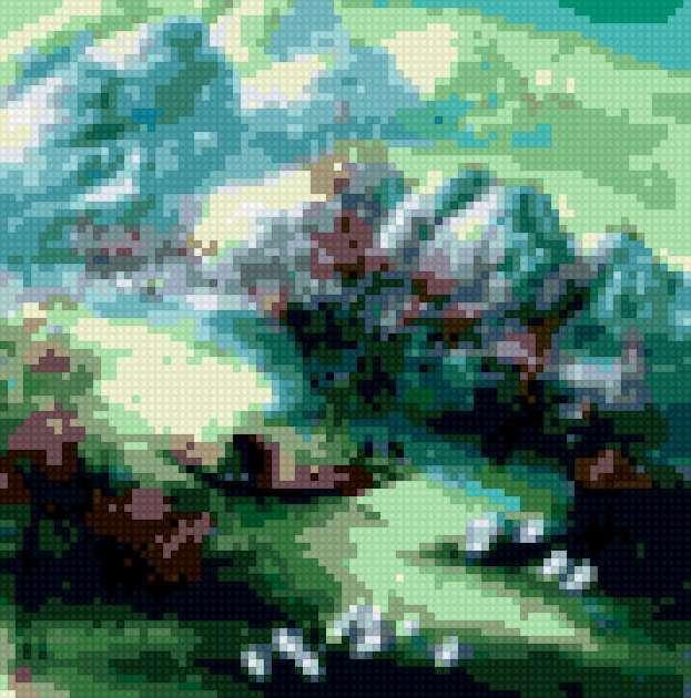 Китайский пейзаж, предпросмотр