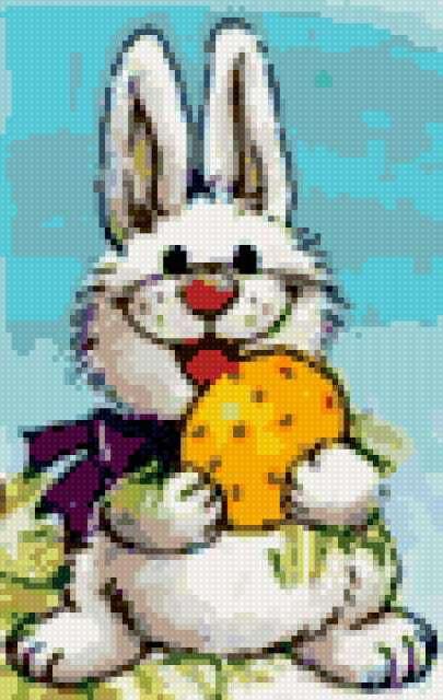 Веселый зайчонок, предпросмотр