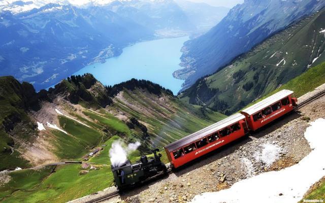 Швейцарский поезд, транспорт