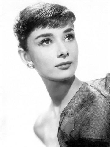 Одри Хепберн, актриса, портрет