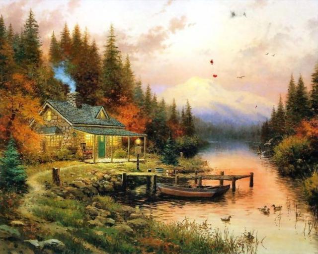 Дом у речки (Томас Кинкейд),