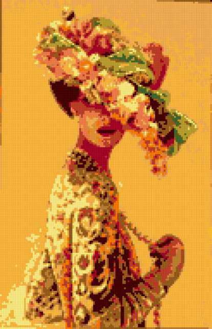 Портрет девушки в шляпе,