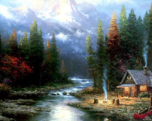 Дом у реки, оригинал