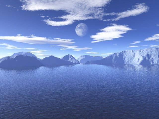 Небо и море, оригинал