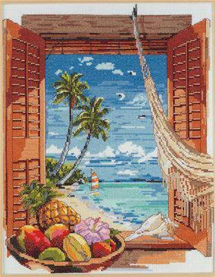 Вид из окна, тропики, оригинал
