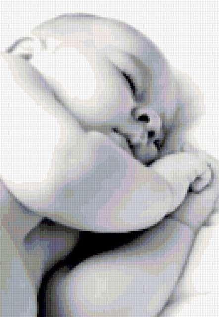 Спящий малыш, дети, малыш,